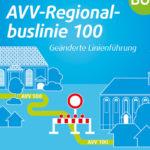 AVV Flyer Baustelle
